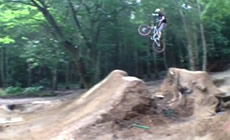Steve and a few others at Warley - 2012 August - Mountain Biking