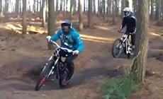 Essex Herts MTB do Chicksands - 2012 December - Mountain Biking