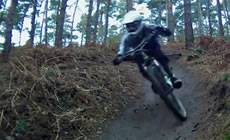 Chicksands  - milk282 on the dual and mini  - 2012 May - Mountain Biking
