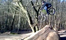 Warley - MTB Dirt Jumping  - 2012 February - Mountain Biking