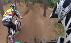 Chicksands Dh, Jumps/Drops and Dual slalom  - 2012 October - Mountain Biking