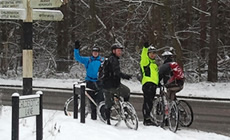 Thorndon & Essex - Recent rides - 2013 January - Mountain Biking