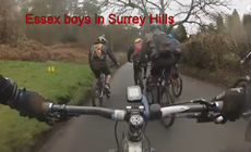 Surrey Hills with the Essex Boys - 2015 January - Mountain Biking
