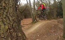 Colchester bike park - 2015 March - Mountain Biking