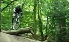 Epping forest - Jumps & Gaps - 2008 September - Mountain Biking